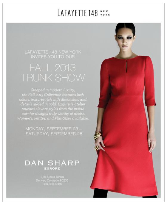 Dan Sharp Fall Trunk Show