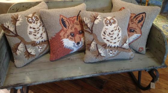 The Lark Woodland Pillows