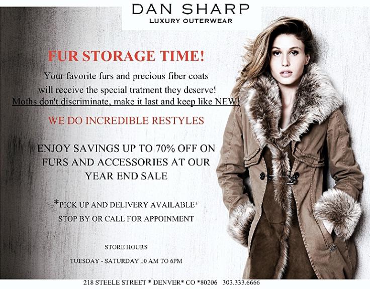 Dan Sharp Fur Storage