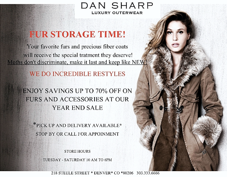 Dan Sharp Fur Storage