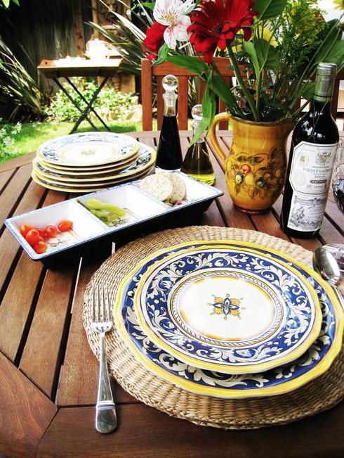 The Lark Outdoor dining