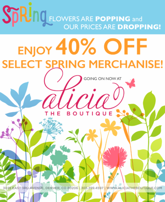Alicia Spring Sale