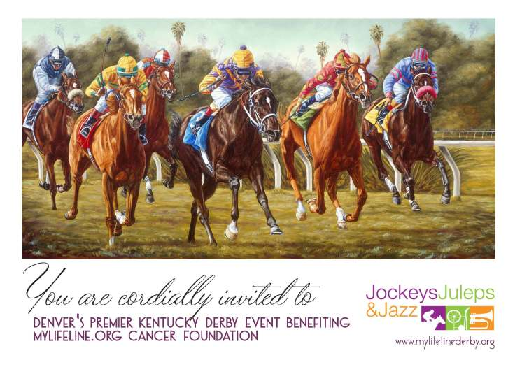 Jockeys, Juleps and Jazz Invitation