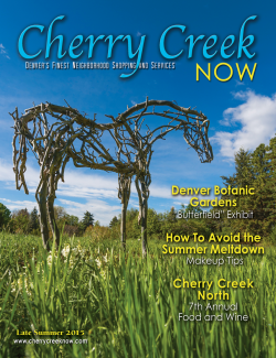 Late Summer Issue 2015