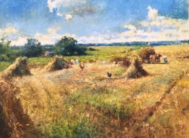 """""""Harvest Time"""", Vladimir Nasonov"""